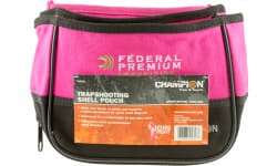 Champion Targets 45853 Trapshooting Shell Pouch Pink Nylon
