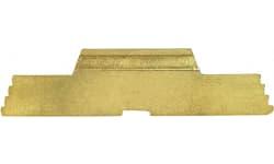 Cross Armory CRGSLGD Slide Lock Spring Compatible with P80 & Glock Gen1-3 Gold Steel
