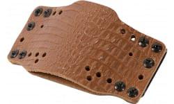 Limb 12521 Cross Tech Hlster Leather CLIPON-LT BRN
