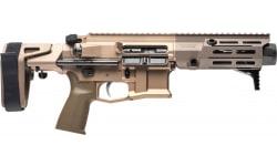 """Maxim MXM-PDX Pistol W / SCW-PDW Brace and Hate Break - 5.5"""" BBL - .300 Blackout 20rd - FDE- MXM-47822"""