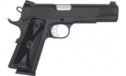 SDS 1911B-45 Duty Pistol, Full Size 1911 45ACP, Upgraded Features, Black Cerakote Finish