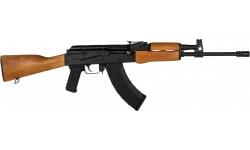 "Century Arms WASR Paratrooper Semi Auto AK 47 Rifle 16.25"" Threaded BBL,14x1 LH 762X39,30 Round Mag - Wood Furniture - Romanian Cugir - RI12937"