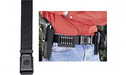 "Uncle Mikes 8800 Holster Belt Sidekick Fits up to 50"" Waist Black Nylon"