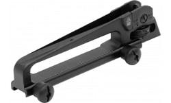 UTG Pro TLURS001 Mil-Spec Carry Handle Sight AR Style 7075 T6 Aluminum Black Hardcoat Anodize