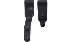 Galco VHSTDB VHS Tie Down Set Leather Black