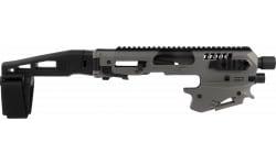 CAA Mcktua Micro Conv Advanced Glock 17/19/19X Gray