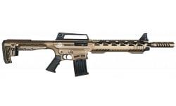 """TR Imports SE122TACB SE Tactical 20"""" Bronze Cera Tactical Shotgun"""