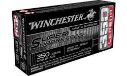 Winchester Ammo SUP350 350LEG SP Suppressed 255OT - 20rd Box
