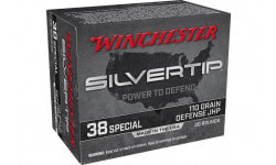 Winchester Ammo W38ST 38SP 110 STHP - 20rd Box