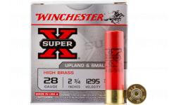 """Winchester Ammo X285 Super-X High Brass 28GA 2.75"""" 3/4oz #5 Shot - 25sh Box"""