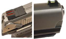 Williams 71030 FireSight Pistol 1911 Pistol Red Black