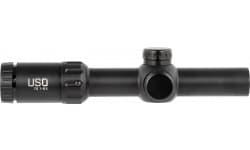 USOPTICS* TS-8X SFP 1-8X24IL 30mm Tube 1/2 MOA Windage & Elevation Adjustments