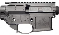 San Tan Tactical STT-15L-LITE-PILLAR-COMBO TAN STT15L Billet Receiver Lite UPPER/LOWER Combo Black