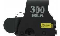 Eotech EXPS2300 300 Blackout 1x 30x23mm Obj Unlimited Eye Relief 2 MOA Black