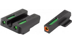 TruGlo TG13KA1PC TFX PRO Kahr Pistols Green w/Orange Outline Front Green Rear Black
