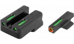 TruGlo TG13NV1PC TFX PRO Novak 260/450 Green w/Orange Outline Front Green Rear Black