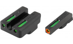 TruGlo TG13TA2PC TFX PRO Taurus Mil/Slim Green w/Orange Outline Front Green Rear Black