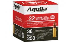 Aguila 1B221103 22 LR HV SP 38 GR 250/2000 - 2000 Round Case