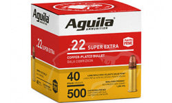 Aguila 1B221115 22 LR HV SP 40 GR 500/2000 - 2000 Round Case