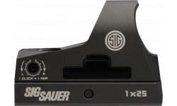 Sig Sauer Electro-Optics SOR31002 Romeo3 1x 25mm Obj Unlimited Eye Relief 3 MOA Graphite