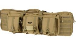 "Rukx Gear Tactical Double Gun Tan 600D Polyester 37"""