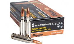 Sig Sauer E6MMCM1-20 6mm Creedmoor 80 Elite Hunter - 20rd Box