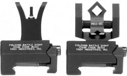 Troy Ssigiarsmbt Battle Sight Micro Set HK Weapons w/Raised Top Rail Black