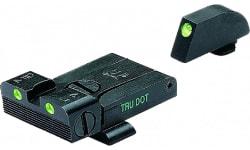 Meprolight 20224 Tru-Dot NS Adj Set Glock 17,19,20,21,22,23 Tritium Green F/R