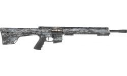 "Brenton USA INC RS18MM350 Stalker Carbon Hunter 18"" 5+1 MarbleKote Midnight Camo/Black Nitride Fixed Magpul MOE Stock Black Hogue Hunter Grip"