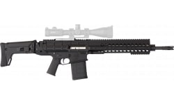 """DRD Tactical DFGP716BKHC Tactical Paratus 16"""" 20rd Black Finish & Hard CSE"""