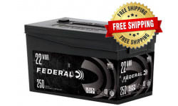 Federal Black Pack .22 WMR 40 GR Full Metal Jacket 1000 Round Case - Free Shipping