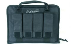 Voodoo Tactical 25-0017001000 Pistol Case w/ Mag Pouches