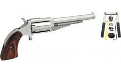 "NAA NAA18604CB Revolver Single Barrel 4"" Wood Stock 5"