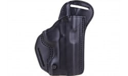 Blackhawk 420703BKR Check Six Holster Glock 17/19/22/23 Leather Black