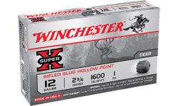 """Winchester Ammo X12RS15 Super-X 12GA 2.75"""" 1oz Slug Shot - 5sh Box"""