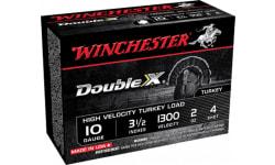 "Winchester Ammo STH104 Double X Turkey 10GA 3.5"" 2oz #4 Shot - 10sh Box"