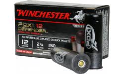 "Winchester Ammo S12PDX1 Elite PDX1 Defender 12GA 2.75"" 1oz 00 Buck/Rifle Slug Shot - 10sh Box"