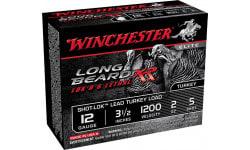 """Winchester Ammo STLB12L5 Long Beard XR Shot-Lok Turkey 12GA 3.5"""" 2oz #5 Shot - 10sh Box"""