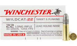 Winchester Ammo WW22LR Wildcat 22 Long Rifle 40 GR Lead Round Nose - 50rd Box