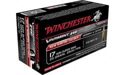 Winchester Ammo S17W25 Varmint 17 Winchester Super Magnum (WSM) 25 GR Polymer Tip - 50rd Box