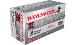 Winchester Ammo X30M1 Super-X 30 Carbine 110 GR Hollow Soft Point - 50rd Box