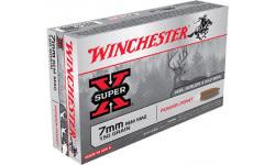 Winchester Ammo X7MMR1 Super-X 7mm Remington Magnum 150 GR Power-Point - 20rd Box