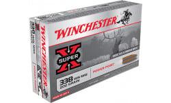 Winchester Ammo X3381 Super-X 338 Winchester Magnum 200 GR Power-Point - 20rd Box