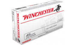 Winchester Ammo Q4170 Best Value 45 ACP 230 GR Full Metal Jacket - 500 Round Case