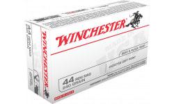 Winchester Ammo Q4240 Best Value 44 Remington Magnum 240 GR Jacketed Soft Point - 500 Round Case