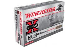 Winchester Ammo X6555 Super-X 6.5X55mm Swedish 140 GR Soft Point - 20rd Box