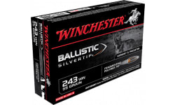 Winchester Ammo SBST243 Supreme 243 Winchester 55 GR Ballistic Silvertip - 20rd Box
