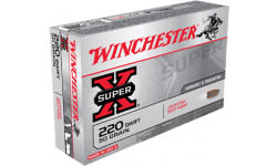 Winchester Ammo X220S Super-X 220 Swift 50 GR Pointed Soft Point - 20rd Box