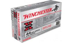 Winchester Ammo USA44CB Super-X 44 Special 240 GR Lead - 50rd Box