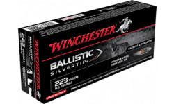 Winchester Ammo SBST223SS Supreme 223 Winchester Super Short Magnum 55 GR Ballistic Silvertip - 20rd Box